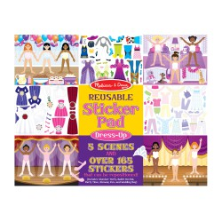 Melissa & Doug Naklejki Wielorazowe Dress-Up