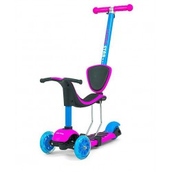 Milly Mally Hulajnoga Scooter LITTLE STAR PINK-BLUE