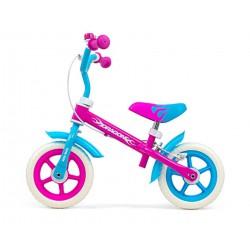 Milly Mally Rowerek biegowy z hamulcem DRAGON CANDY