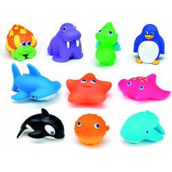 MUNCHKIN Zestaw Zabawek Kąpielowych 10szt w Tubie