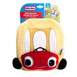 Little Tikes Szelki bezpieczeństwa z plecakiem Auto czerwony