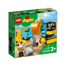 LEGO DUPLO Ciężarówka i Koparka Gąsienicowa 10931