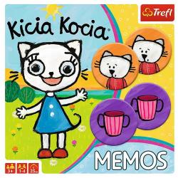 TREFL Gra Pamięciowa MEMOS Kicia Kocia