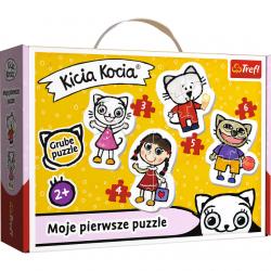 TREFL Puzzle Baby Classic Wesoła KICIA KOCIA