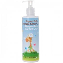 AZETA Organiczny Szampon i Płyn do Mycia Ciała dla Dzieci 2w1 200ml