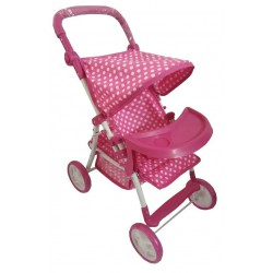 Baby Mix Wózek Lalkowy Spacerowy