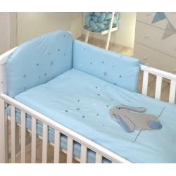 AMY Pościel dla Dzieci 3-elementowa Fluffy Sea 135x100