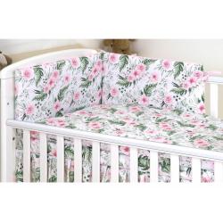 AMY Pościel dla Dzieci 3-elementowa Różany Ogród 135X100