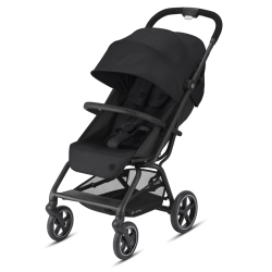 Cybex Eezy S+ 2 Deep Black Wózek Spacerowy