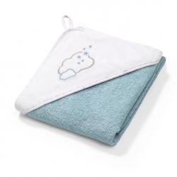 BABYONO Okrycie Kąpielowe Ręcznik z Kapturkiem 100x100