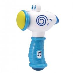 SMILY PLAY Młotek z Dźwiękiem Stuku Puku Niebieski