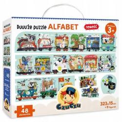 CzuCzu Duże Puzzle ALFABET 48 Elementów