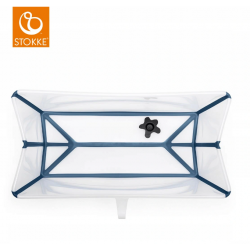 STOKKE Wanienka STOKKE FLEXI BATH XL TRANSPARENT BLUE