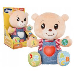 CHICCO Zabawka Dwujęzyczna Miś Teddy Okazujący Uczucia