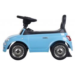 SUN BABY Jeździk FIAT 500 VOLARE Niebieski