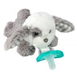 RaZ Baby Smoczek uspokajający JollyPop + Maskotka Szczeniaczek PALMER