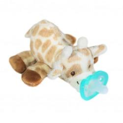 RaZ Baby Smoczek uspokajający JollyPop + Maskotka Żyrafka