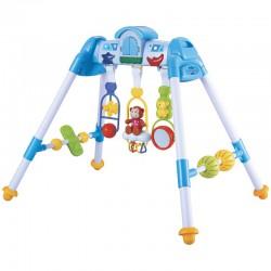 Stojak Edukacyjny dla niemowląt DE LUX Niebieski