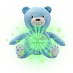 Miś z Projektorem Gwiazdek Niebieski CHICCO